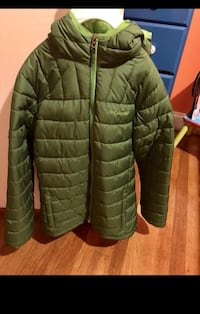 green bubble zip-up jacket Springfield, 22150