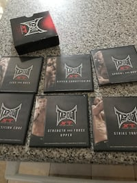 Tapout XT 11 DVD's missing ultimate abs Whitby, L1N 9V4