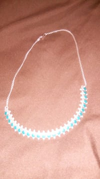 white and blue beaded necklace Prescott, 86301