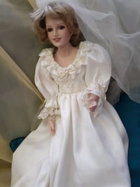Princess diana ceramic doll