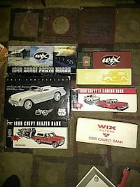 assorted car collection