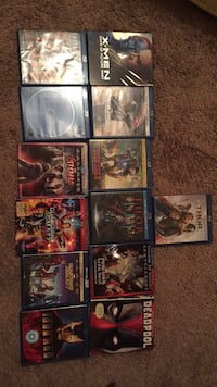 assorted-title DVD case lot Hesperia, 92345