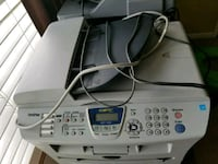 white and gray Brother photocopier machine Gainesville