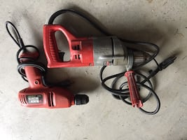 Milwaukee commercial size power drill and