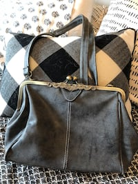 New with tags Retro Grey purse  Calgary, T3P 0N8