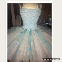 Winter/frozen themed tutu dress Fresno, 93722
