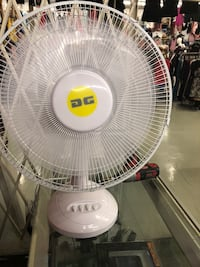 "White 16"" desk fan Covina, 91722"
