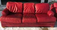 Used red couch  Montgomery, 56069