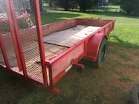 red and brown utility trailer Simpsonville, 29680