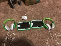Two Leap Pad 3s with headphones and charger. $50 per or $80 for both  Colorado Springs, 80923