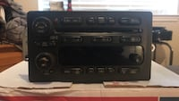 Radio- plug n play for any GMC vehicles including hummer, suburban, Tahoe, and many other makes. This radio is in good shape and has 6 cd changer, digital read out. It fits all GMC vehicles fro 2003-2007 OEM Good luck on you