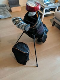 Various golf clubs and bag Vancouver, V5N 2K4
