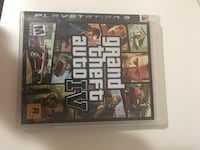Grand theft auto play station 3 Springfield, 22150