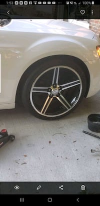 """(4) 22"""" Iroc rims and tires 3 tires good shape Montgomery, 36106"""