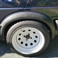 Used 4x100 Diamond Steelies With Tires For Sale In Saugerties Letgo