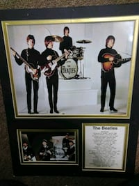 Beatles  11 by 14 collage Norwood, 19074