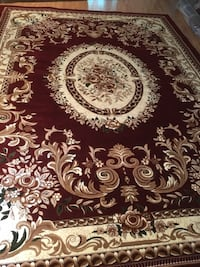 Brand new Turkish area rug size 8x11 nice red carpet Persian styl rugs Burke, 22015