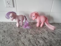 1982 Blossom & Cotton Candy My Little Ponies  Morinville