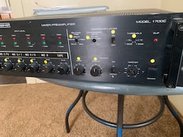 Mixer/preamplifier for sale