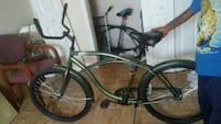 black and green cruiser bike Baton Rouge