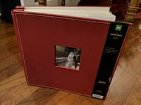 """FS: Faux Leather, 12"""" x 12"""", Post Bound, Red Apple Toronto"""