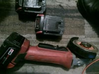 cordless grinder with 3 battery's  Winnipeg, R2W 2G3