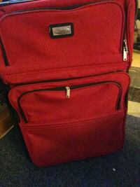 Ciao one piece luggage set red full size Garden City