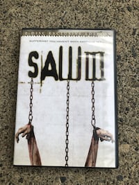 SAW III DVD 2 disc Exclusive Edition with slip cover $10