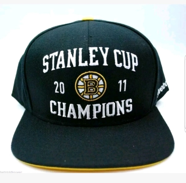 2011 Boston Bruins Stanley Cup Champions Hat Cards a244164a-5d3a-4338-8a31-847436a2577b