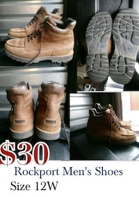 pair of brown leather boots El Paso, 79904