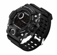 NEW!!! LED Digital Sport Watch, Military Dive Shock Silicone Style Toronto, M5J 0C8