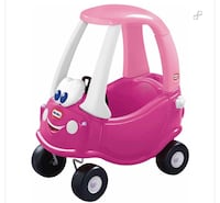 Pink Little Tikes Car