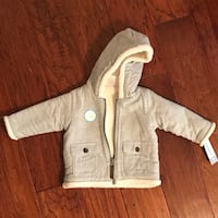 CARTER'S Fleeced Lined Baby Jacket 9 month Fort Washington, 20744