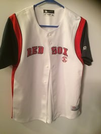 Red and black boston red sox baseball jersey Wells, 04090