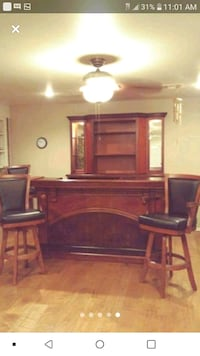 American Heritage bar and back bar for home Del City
