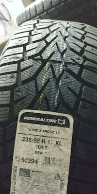 Brand New 235-55-17 General winter tires Brampton, L6R 1P2