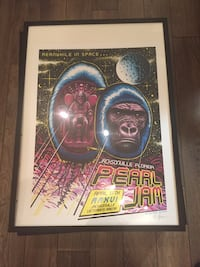 Pearl Jam, Rush, Muse, Wilco, + more: Framed Music Concert Posters  Toronto, M6J 3G4