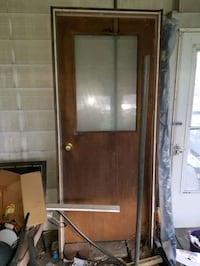 Free door and frame