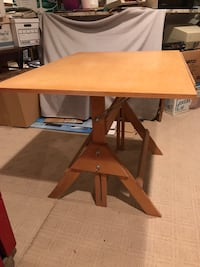 Wooden Drafting Table Potomac, 20854