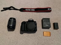 Canon 80d with EF-S f/3.5-5.6 IS STM lens Pickering, L1V 6Y1