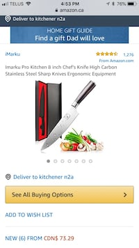 white and red and black and gray pocket knife screenshot Kitchener, N2M