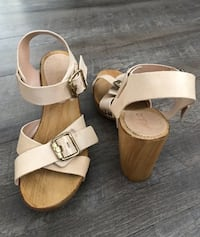 Women's Leather Sandals Made in Italy - Size 7. Alexandria, 22310
