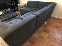 Gray sectional couch Bethesda, 20817
