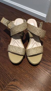 Beige Wedges from Browns Shoes