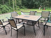 Deck furniture Bedford, 01730