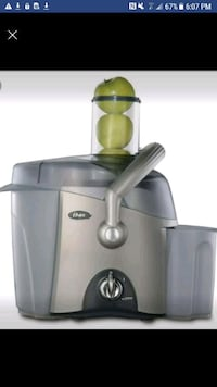 gray and green Sinbo power juicer Toronto, M4H 1L7