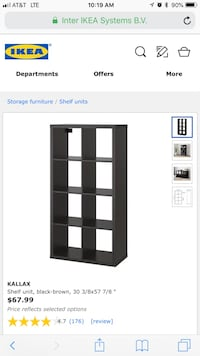 Bookshelf/Drawer unit with inserts included  Silver Spring, 20910
