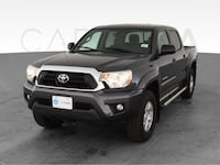 2015 Toyota Tacoma Double Cab pickup PreRunner Pickup 4D 5 ft Gray