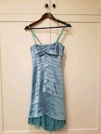 Blue Strapless BCBG MAXAZRIA Dress Mississauga, L5B 1W3