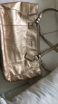 Coach Leather Tote - Barely used